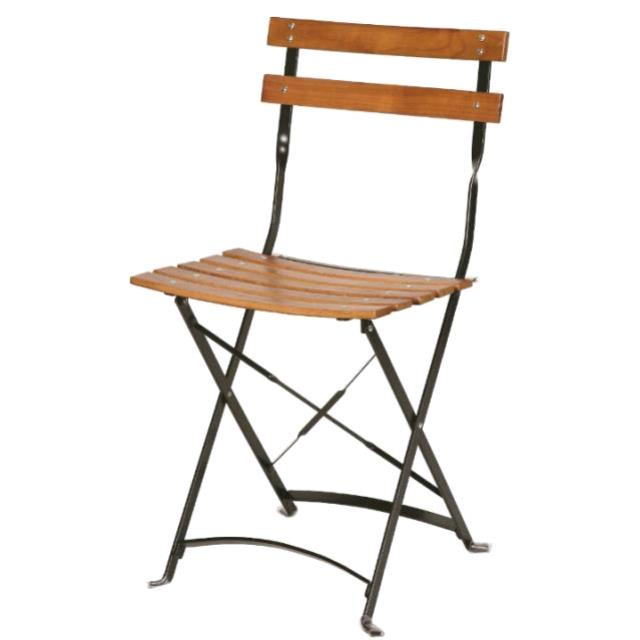 Where to find WOOD SLAT GARDEN CHAIR in Ventura