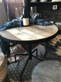 Rental store for TABLE - 28  RD COCKTAIL DISTRESSED WOOD in Ventura CA