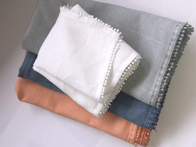 Where to find SPECIALTY LINEN NAPKINS, POMPOM in Ventura