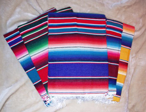 Where to find SPECIALTY LINEN, MEXICAN SERAPE-24 x60 in Ventura