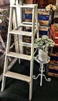 Rental store for VINTAGE LADDER WHITE WASHED in Ventura CA
