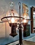 Rental store for VINTAGE IRON LAMP in Ventura CA