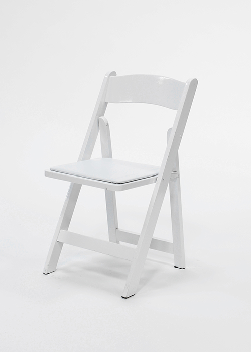 Where to find KIDS CHAIR, FOLDING WOOD WHITE in Ventura