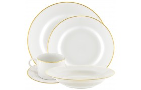 Where to find WHITE CHINA WITH GOLD RIM in Ventura