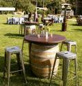 Rental store for 40  RANCHERO WINE BARREL TABLE in Ventura CA