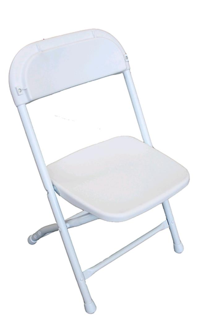 Where to find KIDS CHAIR, WHITE SAMSONITE in Ventura