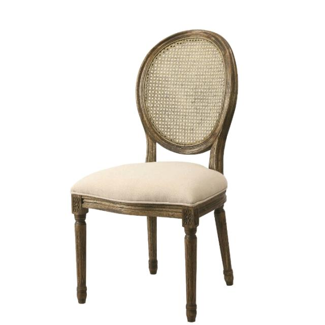 Where to find CHAIR - OVAL BACK DINING CHAIR in Ventura