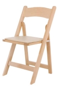 Rental store for FOLDING CHAIR, CARAMEL WOOD in Ventura CA