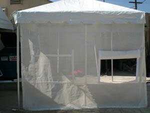 Where to find CANOPY, 8  x 10  MESH FOOD WALL in Ventura