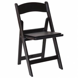 Where to find FOLDING CHAIR, BLACK RESIN in Ventura