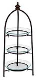 Rental store for STAND, 3 TIER W GLASS-38 HIGH in Ventura CA